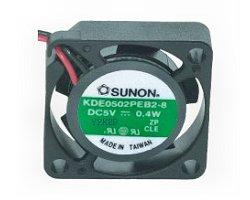 Ventillátor  25 x 25 x 10 5VDC KDE0502PFB2-8 490-059