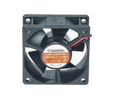 Ventillátor  60 x 60 x 25 12V DC KDE1206PTS3 490-027
