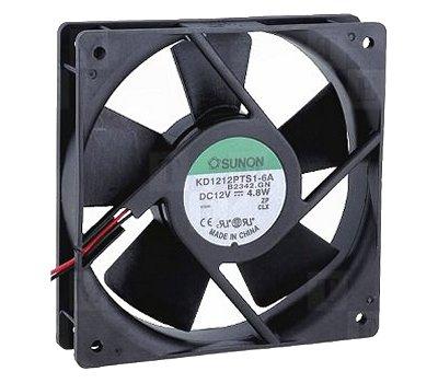 Ventillátor 120x120x 25 12V DC KDE1212PTS1-6 490-032