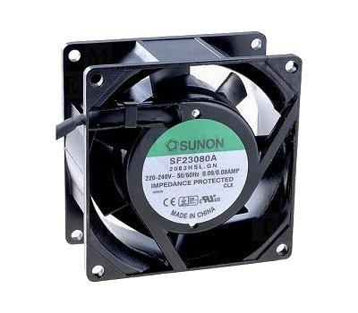 Ventillátor  80x 80x 38 230V SF23080A2083HSL 490-071