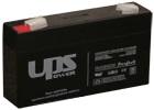 Zselés akku  UPS 6V 1,3Ah
