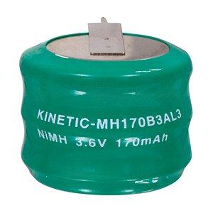 Memoriatartó NiMh akku Ø 25,1 mm NIMH-170/3