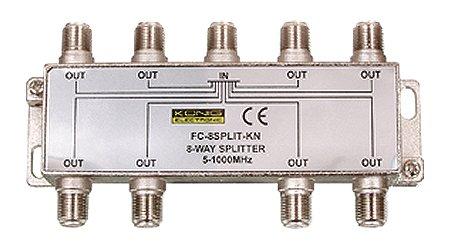 Splitter (elosztó) 1 be - 8 ki 8SPLT