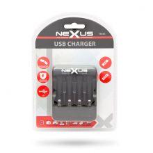 Akkumulátortöltő USB-s - DC 5V / 1A 4 x AA / AAA 18940