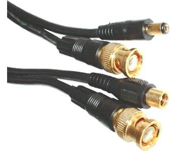 Videokábel + DC tápkábel 50 m 07-598/50