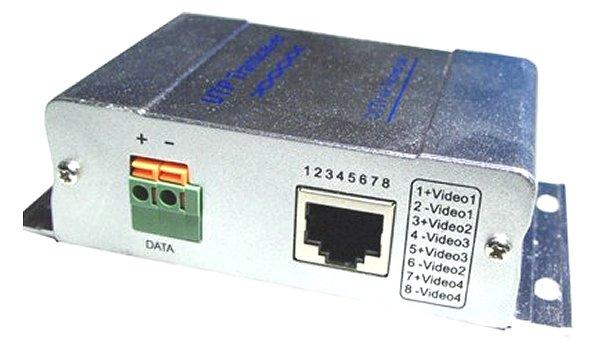 4 csatornás videojel továbbító passzív AV-14