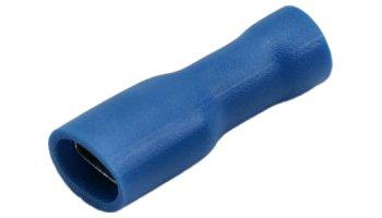 Csúszósaru hüvely 4,8 / 2,3 mm kék 100 db. 02-341
