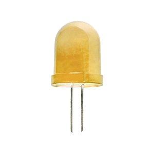 LED 10 mm  normál diffúz sárga