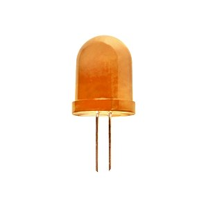 LED 10 mm  normál diffúz narancs