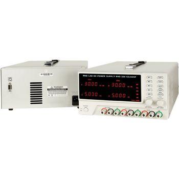 Labortápegység 3 Csat. 0...30 VDC 5 A / 0...30 VDC 5 A / 5 VDC 3 A, Programozható RND320-KA3305P