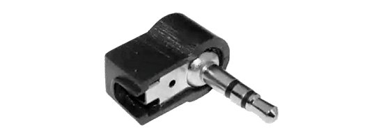 Jack dugó 3,5 műanyagházas 90° 3pol (stereo) 300618