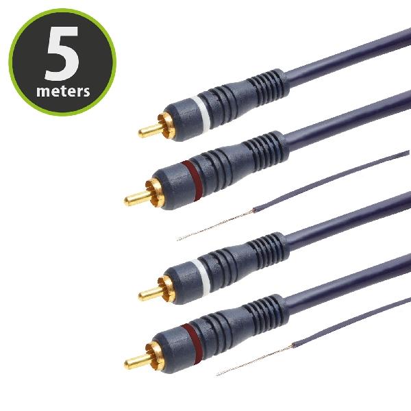 RCA kábel 5m 07581AC