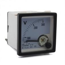 Analóg AC feszültségmérő 300V SF48-14-300