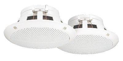 Monacor 8Ω nedvességálló mennyezeti sugárzó-pár SPE-130WS