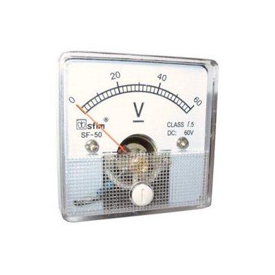 Analog 50 x 50 feszültségmérő DC SF50-12