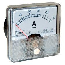 Analog 60 x 60 ampermérő DC SF60-11
