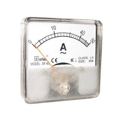 Analog 60 x 60 ampermérő AC SF60-12