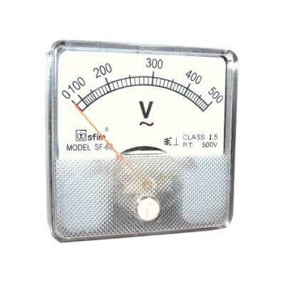 Analog 60 x 60 feszültségmérő AC SF60-14