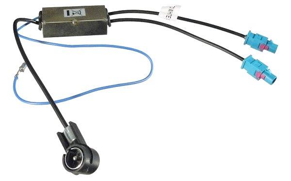 Antenna adapter (Duál-FAKRA - ISO) 520134