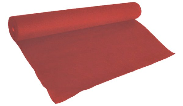 Kárpit tekercsben 39510 piros