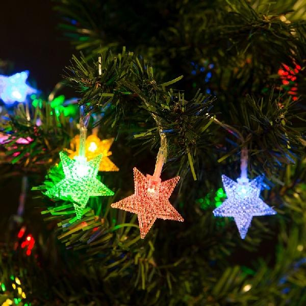 Fényfüzér - LED - csillag 56-501F