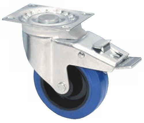 Kerék Ø 100 GUITEL kék Adam Hall AH-37024 (350Kg /4 kerék)