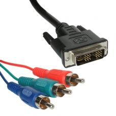 Videó kábel (DVI dugó + 3RCA dugó) 1,5m B7501-TW