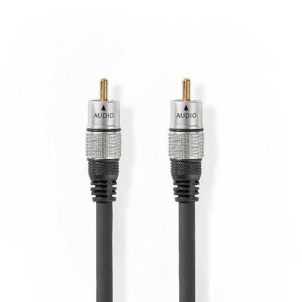 Digitalis koax audió kábel (S/PDIF) HighDef  2,5 m HQSS-3471/2,5