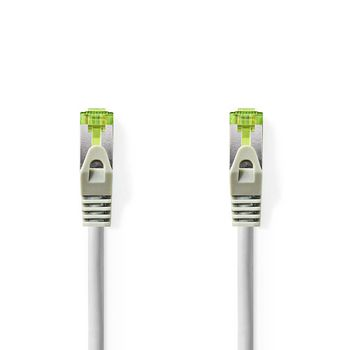 Cat 7 PiMF Hálózati Kábel 1,0 m | Szürke