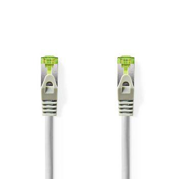 Cat 7 PiMF Hálózati Kábel 10 m | Szürke