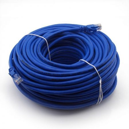 CAT6 UTP kábel kék 40m. 19-097