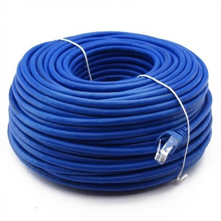 CAT6 UTP kábel kék 50m. 19-098