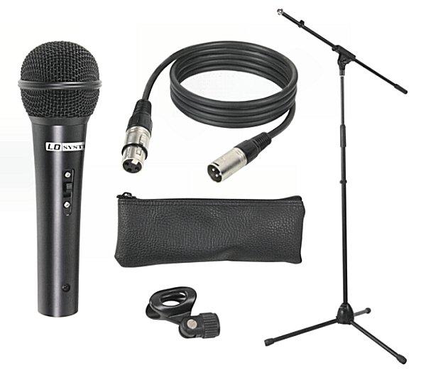 LD System mikrofon-szett LS-LDMICSET1