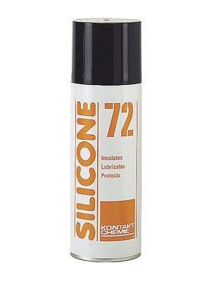 Védő / szigetelő spray 200ml CRC SILICONE-72